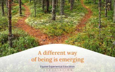 A different way of being is emerging